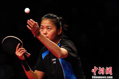2017年乒乓球女子世界杯在加拿大万锦开幕-乒