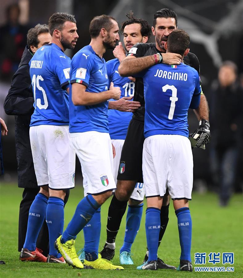 (體育)(1)足球——世預賽:意大利無緣世界盃決賽圈