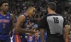 NBA常規賽:凱爾特人不敵活塞(組圖)