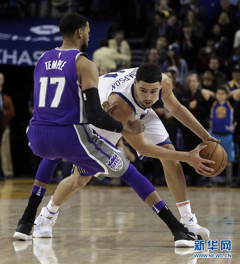 (體育)(3)籃球——NBA常規賽:國王勝勇士