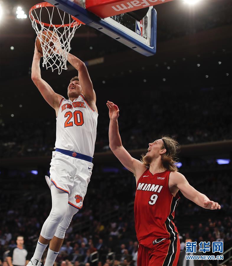 (體育)(1)籃球——NBA常規賽:尼克斯勝熱火