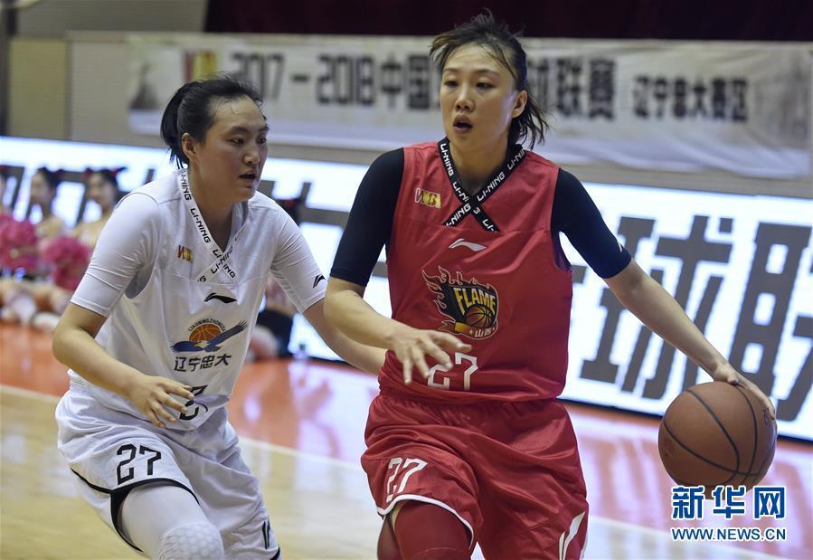(體育)(2)籃球——WCBA聯賽:遼寧不敵山西