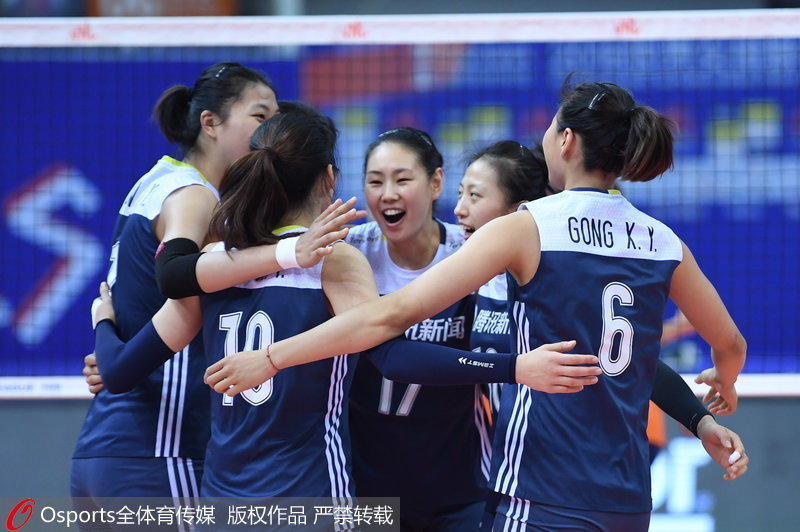 2018年世界女排联赛总决赛 中国3-1胜荷兰迎开