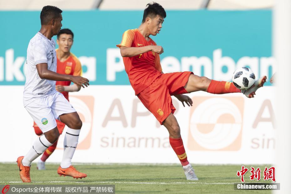 亚运会U23国足6:0大胜东帝汶 张玉宁开场3分钟