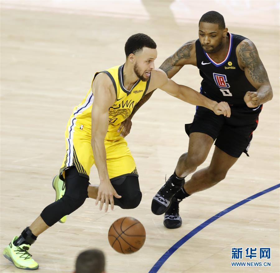 NBA季后赛:勇士不敌快船 双方战成1比1平