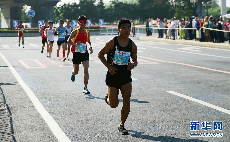 2019吉林市国际马拉松开跑