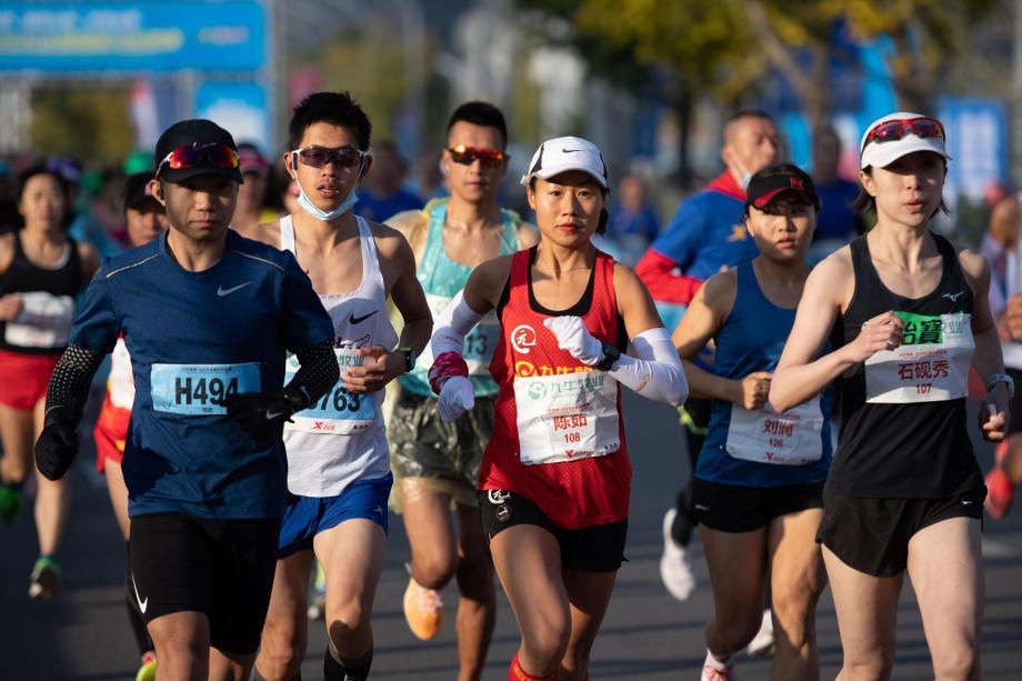 太原马拉松金标赛开跑-
